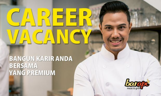 Career Opportunity with Barapi Meat & Grill