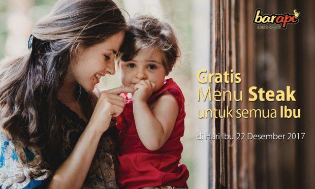 Mother's Day: GRATIS Steak buat para Ibu