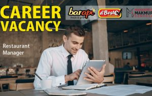 Vacancy Restaurant Manager
