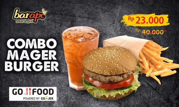 Promo Combo Mager Burger