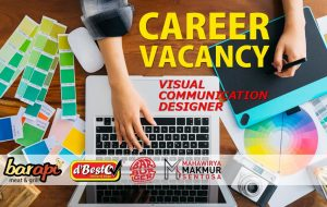 Job Vacancy: Visual Communication Designer